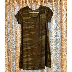 Z Supply Camouflage Dress